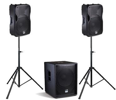 24 Hour Party Speaker Rental